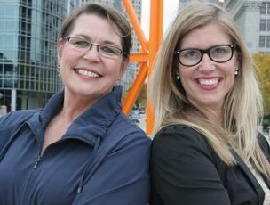 The Good Jobs founders Anne Nimke and Betsy Rowbottom