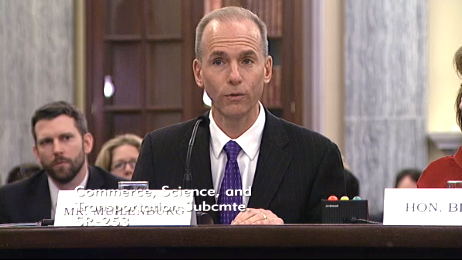 Boeing COO Dennis Muilenberg, possibly the next Boeing CEO, said Boeing needs obstacles removed to compete globally.