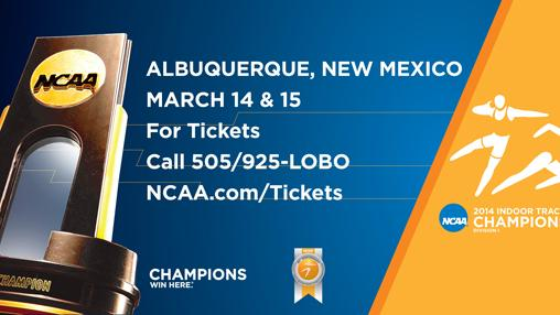 Representatives from more than 100 schools will begin competition today in the 2014 NCAA Track and Field Championships at the Albuquerque Convention Center.