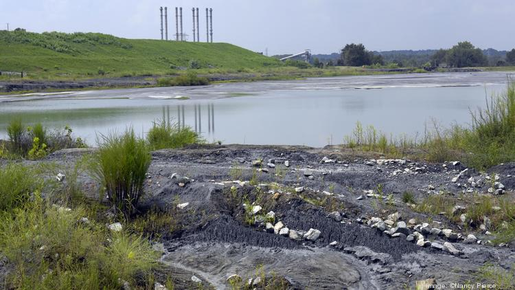 The state suits involve problems with coal ash ponds that Duke Energy maintains at its Riverbend Steam Station (above) in Gaston County and its Asheville Plant in Skyland.