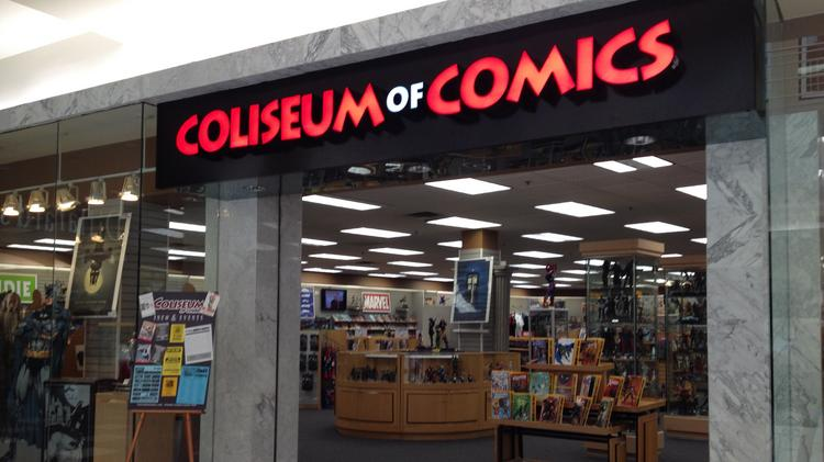 Coliseum of Comics at Orlando Fashion Square mall