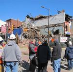 Building collapse in Old City (photos and eyewitness accounts)