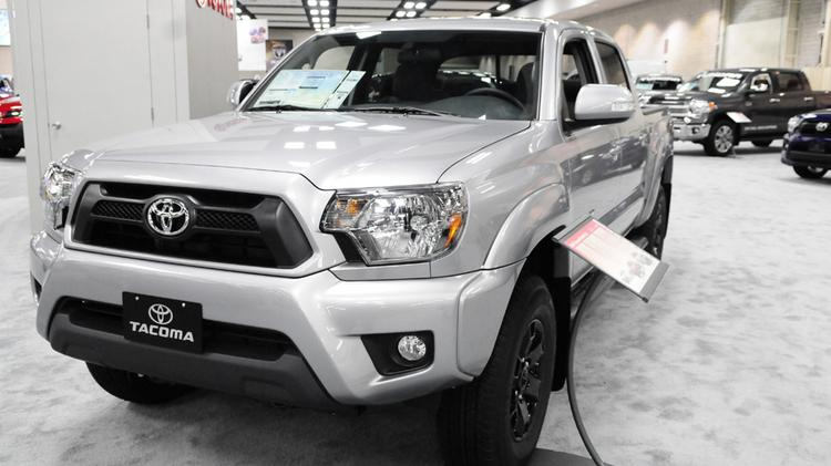 Manufacturing activity in Texas has increased every month over the last 12 months. Pictured is a 2014 Toyota Tacoma, built right here in San Antonio.