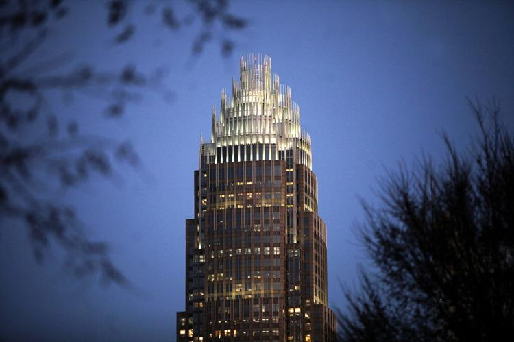 Bank of America is headquartered in Charlotte.