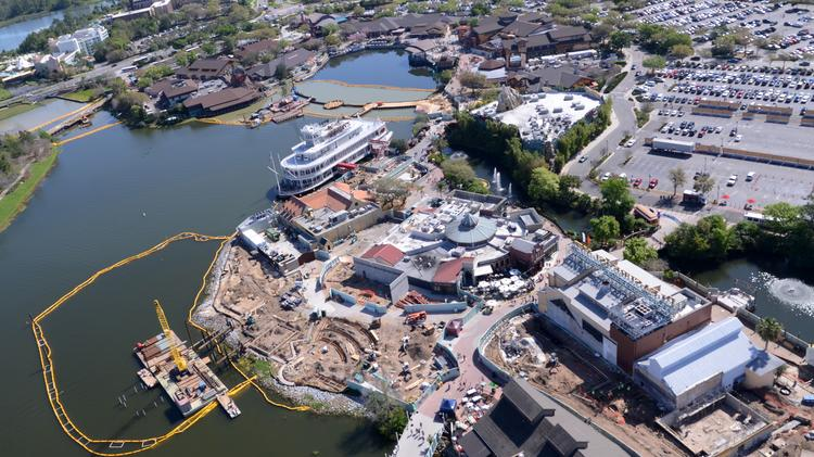 One year after the Disney Springs project announcement, the face of Downtown Disney and the former Pleasure Island have undergone several changes.