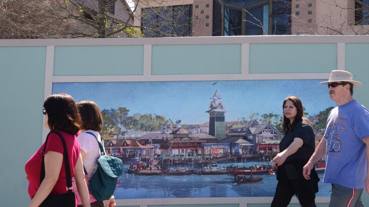 Disney Springs, the re-imagined Downtown Disney, is one of three tours being hosted by the Urban Land Institute today in Central Florida as part of a statewide summit.