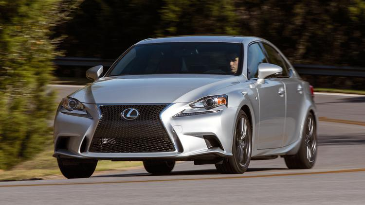 The Lexus IS 350 F Sport.
