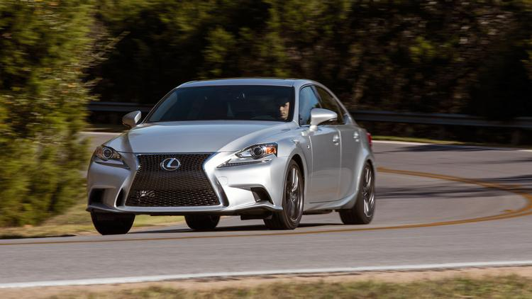 The Lexus IS 350 F Sport may not blow high-end cars off the road, but it offers some serious driving fun.