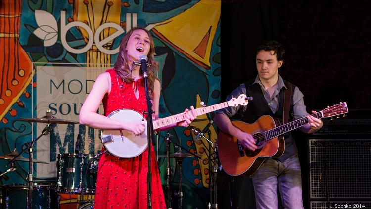 Belk Inc. has selected six winners of its first Southern Music Showcase. Pictured here is Laney Jones, of Mount Dora, Fla., the winner of the bluegrass category.