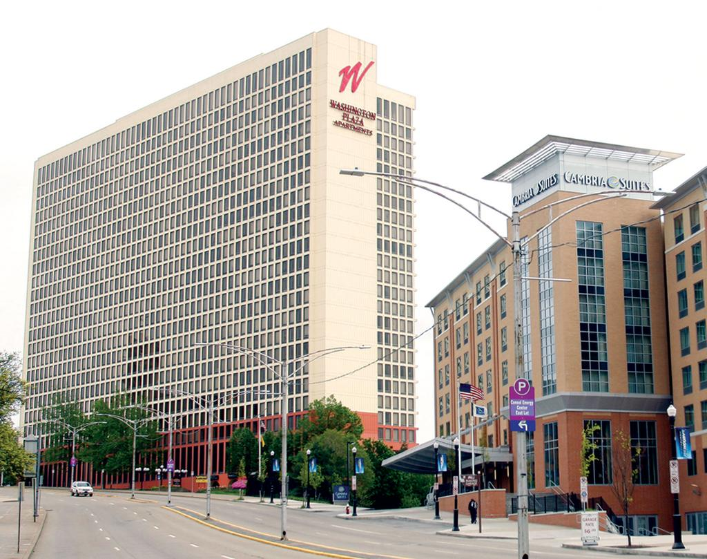 Washington Plaza Apartments In Pittsburgh Which Has Been Acquired By Faros Properties