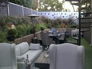 The Studio City restaurant also offers a privateback yard lounge.
