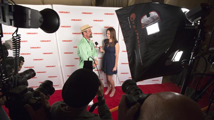 Christopher Meloni walks the red carpet during the closing night of the 24th annual Cinequest film festival.