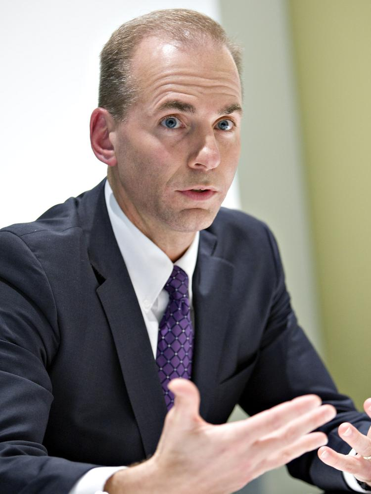 Dennis Muilenburg is widely considered next in line for the position of Boeing Co. CEO.