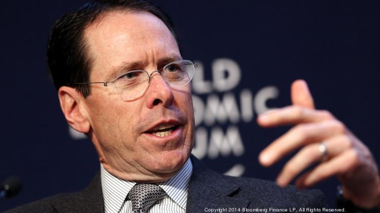 """AT&T CEO Randall Stephenson, who chairs the Business Roundtable, says that any company that does business in Europe is watching the Ukraine crisis """"very, very closely."""""""