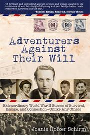 Joanie Schirm, former president of Orlando-based Geotechnical & Environmental Consultants Inc., wrote her book Adventurers Against Their Will: Extraordinary WWII Stories about Survival, Escape, and Connection — Unlike Any Others, which published in March 2013.