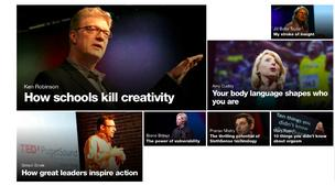 TED's most popular talks, according to TED.