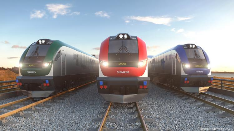 Siemens has a $225 million contract for diesel-electric locomotives, depicted in this rendering. They will be assembled in Sacramento.