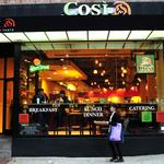 Fast-casual chain Cosi is moving its HQ to Boston from the Chicago area