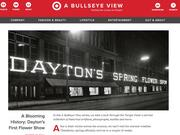 Target's blog featured the history of the Dayton's Spring Flower Show at its flagship store in downtown Minneapolis.