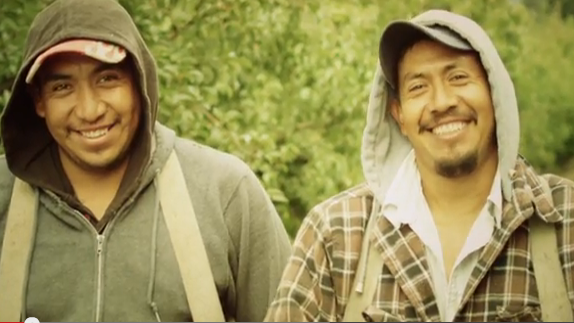 A scene from a Cover Oregon ad that ran last fall targeting a Latino audience.