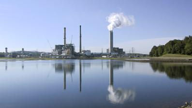 The two-unit Asheville Plant near Skyland could be retired if Duke Energy determines it is not feasible to convert the controversial coal ash pond on site to dry-ash storage.