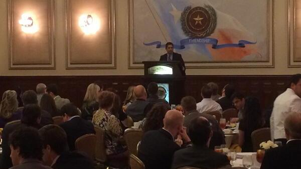 Andres Alcantar with the Texas Workforce Commission told attendees of a YTexas luncheon that much of Texas' economic growth can be attributed to the development of improved technology. But that can't continue without a well-educated pool of workers.