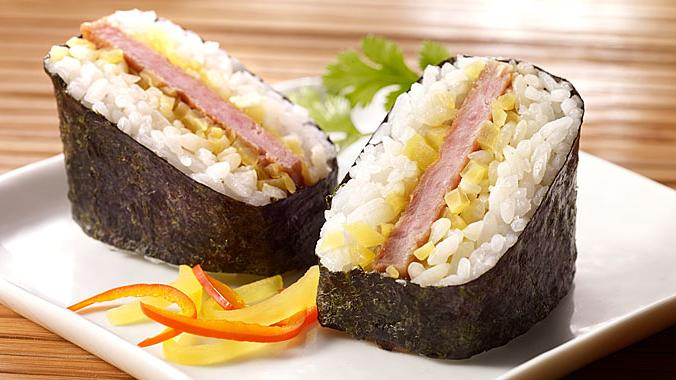 Spam musubi is a popular food in Hawaii, where more Spam is eaten than in any other state.