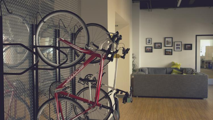 """Trulia executives wanted a new office that would be """"bike-friendly."""""""