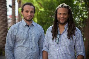 Blcklst.com co-founders Dino Sijamic and Franklin Leonard