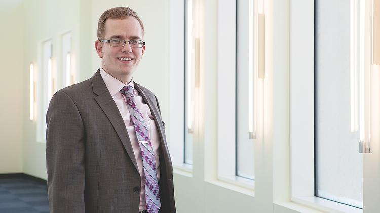 SUNY Buffalo Law School student Andrew Dean ensured success in a difficult job environment by buckling down early in law school.