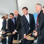 Fallon breaks ground on $300<strong>M</strong> office tower in Seaport District