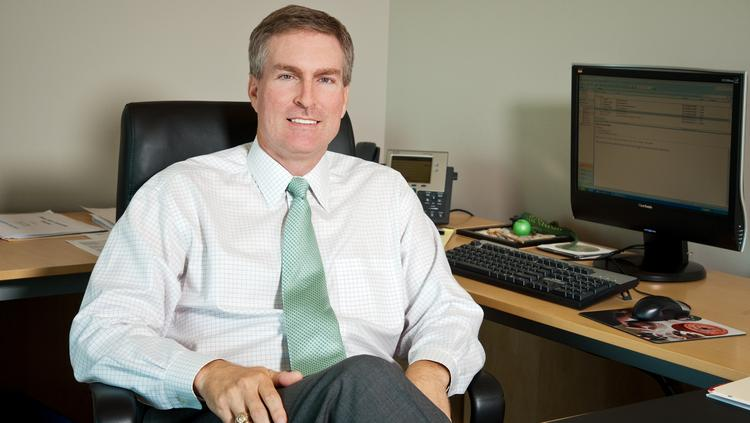 Geoff Greenwade is CEO of Green Bank, which announced on May 5 that it was acquiring Dallas-based SharePlus Bank for $46.2 million.