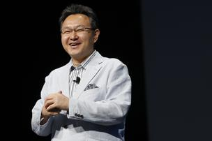Shuhei Yoshida, president of Worldwide Studios at Sony Computer Entertainment Inc., speaks during the Sony Corp. E3 media event in Los Angeles, California, on Monday, June 10, 2013. Sony Corp. took the wraps off the PlayStation 4, its first new console in seven years, promising original content and fresh titles will revitalize demand and spark a comeback for the video-game industry it once dominated.