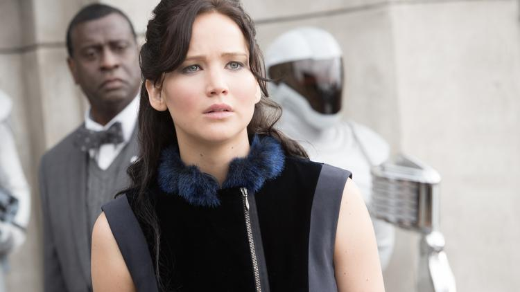 "Katniss in ""The Hunger Games: Catching Fire"""
