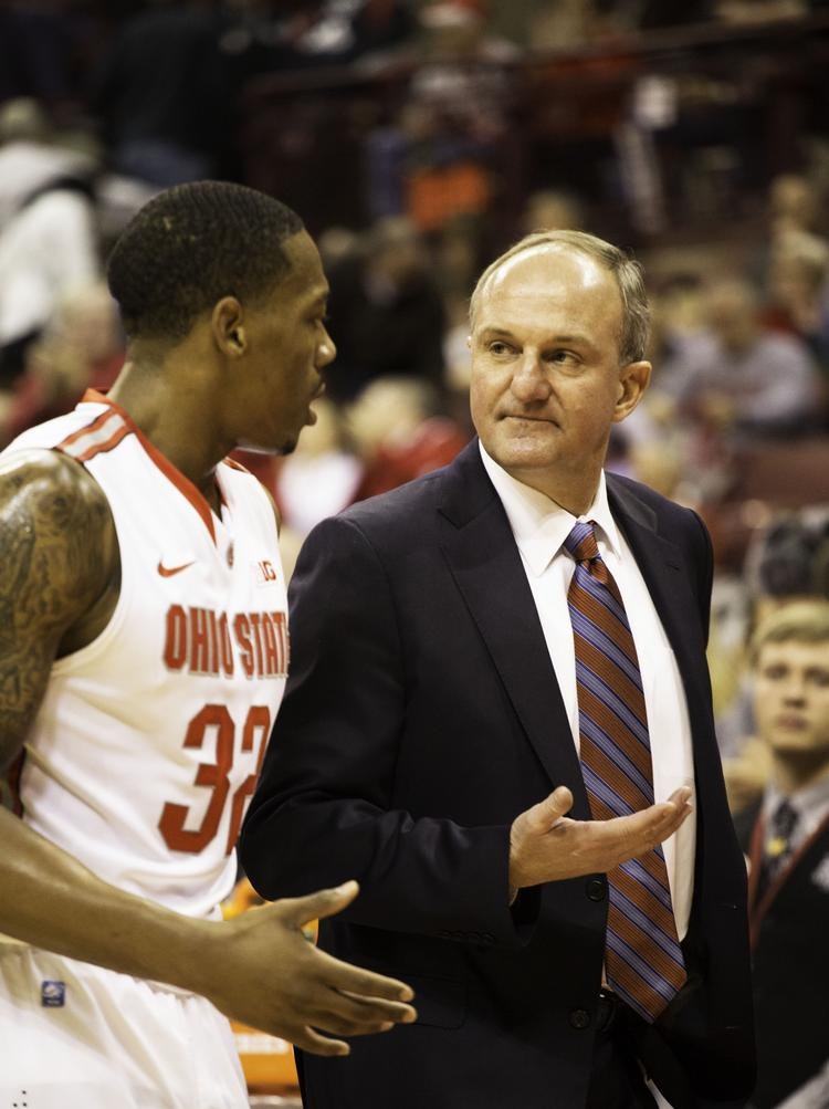 Ohio State basketball coach Thad Matta won this year's Coaches' Charity Challenge, his third-straight victory in the online contest.
