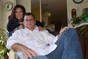 Ken and Cindy Kavanaugh want to sell medical marijuana partly because of Ken's back problems.