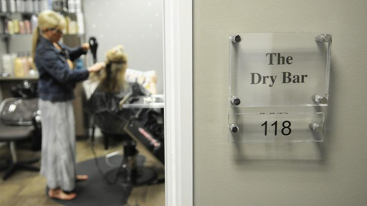 Sandra Bailey owns the The Blow Dry and Style Bar within Studio 55 Salon Suites at Pavilions in Sacramento.