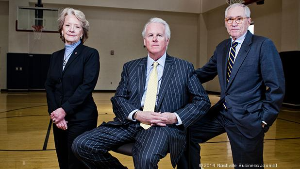 From left: Claire Tucker, Terry Turner and Ron Samuels
