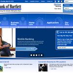 Bank of Bartlett launches new website