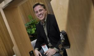 Dan Daugherty, CEO and founder of home automation app maker Rentbits.