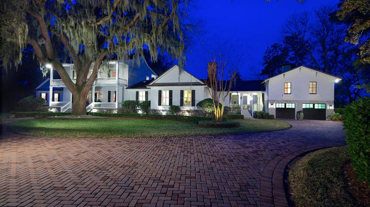 This 200-year-old home on Amelia Island is up for auction with a reserve of $1.8 million.