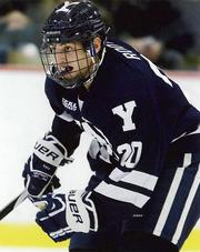 Jesse Root is the starting center for the Yale Bulldogs.