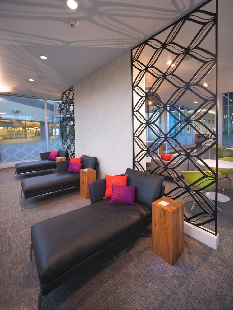 American Express wants to build a Centurion cardholder lounge at at Miami International Airport like the one shown here at Dallas/Fort Worth International Airport.