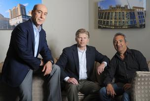 Said Mohammadioun, Glenn McGonnigle and Dave Gould of TechOperators,  an early-stage venture firm.