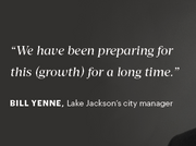 Although no one could have predicted the scope of the investment, officials such as Lake Jackson's city manager, Bill Yenne, credits the area's continuous investment in infrastructure throughout the past 20 years, even in rough economic times, in an attempt to attract the industry.