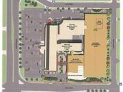 A drawing of IRET's expansion plans for the Southdale Medical Building on France Avenue in Edina.