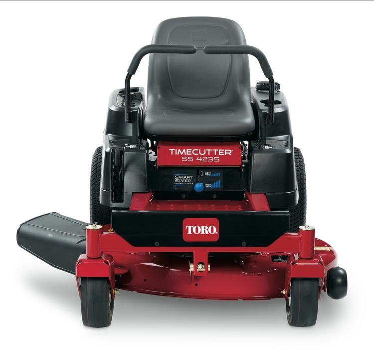 Toro has launched a new national ad campaign for some of its high-end residential riding lawn mowers.