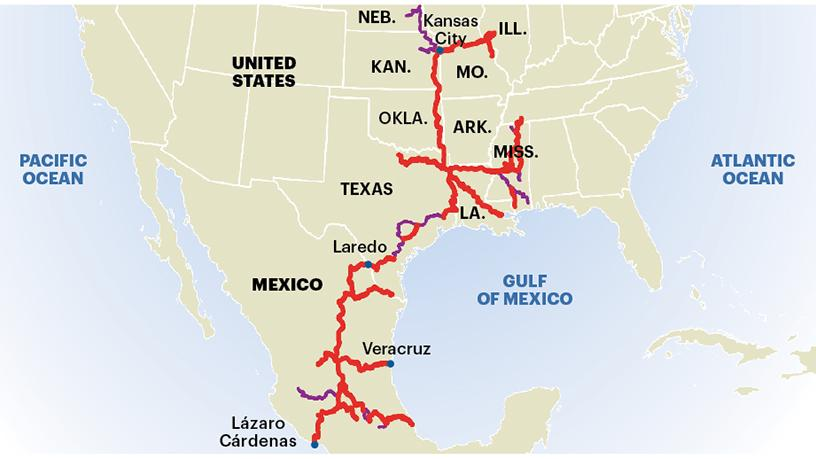 Kansas City Southern CEO says threat to Mexican operations is ... on burlington northern railroad, csx corporation, norfolk & western map, neodesha ks map, overland park florida map, kansas indian tribes map, quebec central railway map, general mills, texas mexican railway, canadian pacific railway limited, via rail, wisconsin central map, class i railroad, grand trunk western railroad, panama canal railway map, providence & worcester railroad map, california state railroad museum map, central railroad map, union pacific railroad, illinois railway museum map, atlantic coast line railroad, seaboard air line map, cartier railway map, louisville and nashville railroad, missouri pacific map, apache railway map, norfolk southern railway, western railway of alabama map, canadian national railway company, kroger company map, florida southern map, soo line railroad, illinois central railroad, pan am railways, southern railway, wisconsin southern map, northwestern pacific map, csx transportation, southern belle,