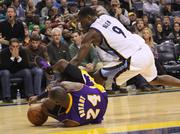"""Kobe Bryant's season effectively ended in Memphis in December, but not many """"Faker"""" fans saw it."""