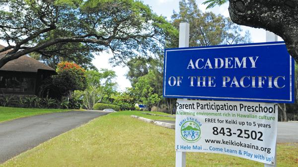 Assets School is in negotiations to buy the former Academy of the Pacific campus, which it plans to convert to its high school.